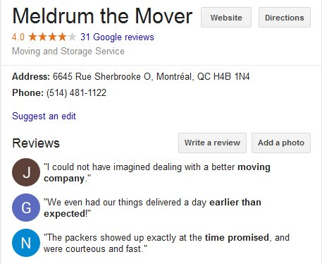 Meldrum the Mover – Location and Reviews