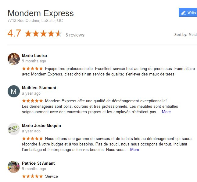 Mondem Express – Moving reviews