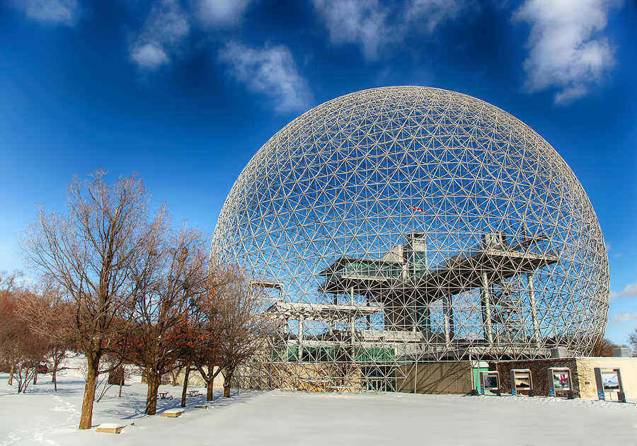 The Biosphere – Museum in Montreal dedicated to the environment