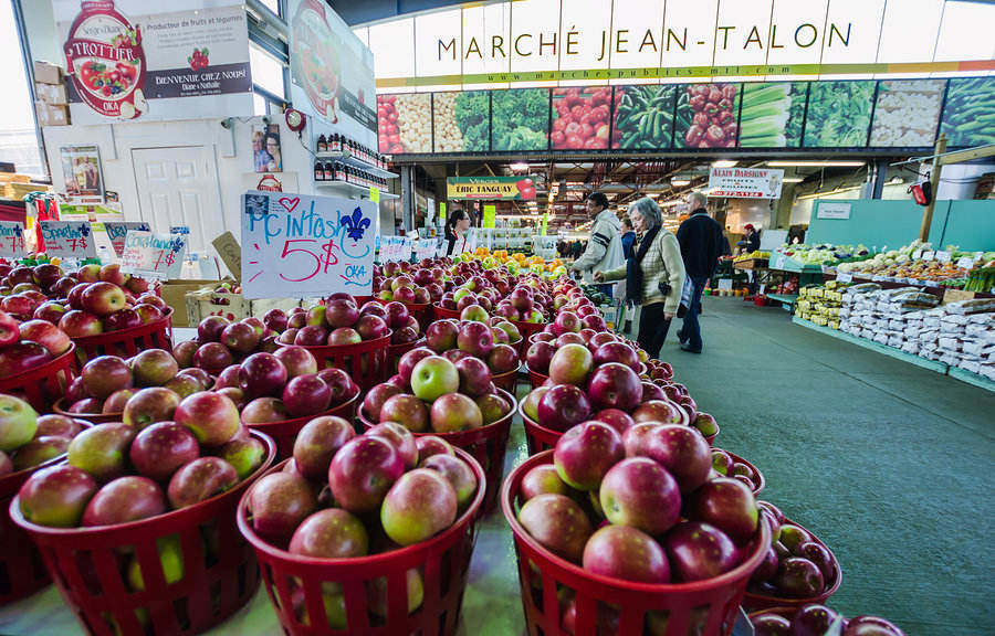 Montreal has the largest public outdoor market with everything a foodie will love
