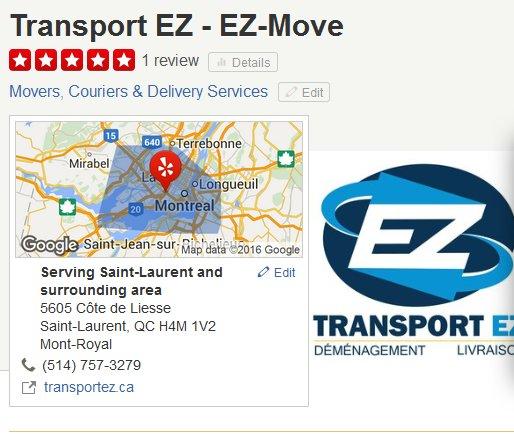 Transport EZ – Location