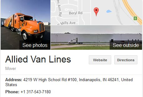 Allied Van Lines – Parent Company Location