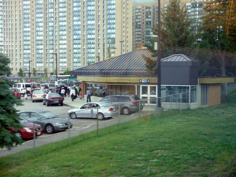 Cooksville GO Terminal is the primary transportation hub in Mississauga