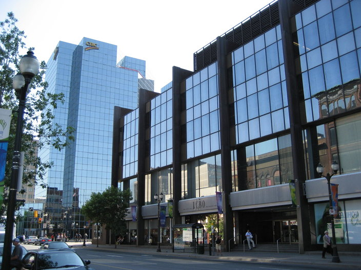 Downtown Hamilton reflects high commercial and economic activity