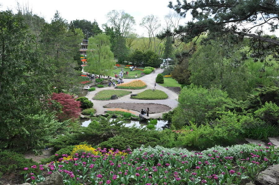 Famous Royal Botanical Gardens is a delight to the senses