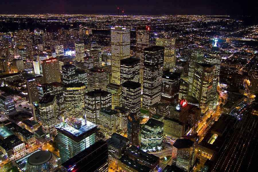 Toronto's Financial District is a global economic powerhouse By Agunther - Own work, CC BY 3.0
