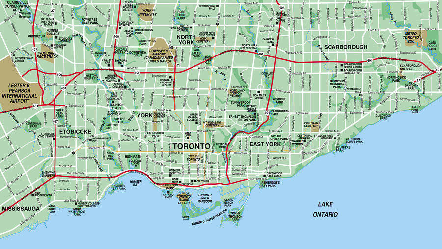 Toronto Neighborhood Map – Best Places to Find a Home in Toronto