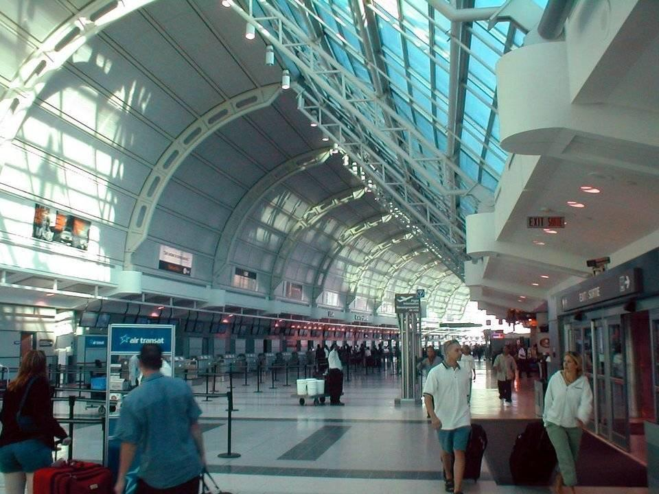 Toronto Pearson International Airport is Canada's busiest airport CC BY 2.0, https://commons.wikimedia.org/w/index.php?curid=1162293