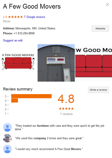 A Few Good Movers – Location