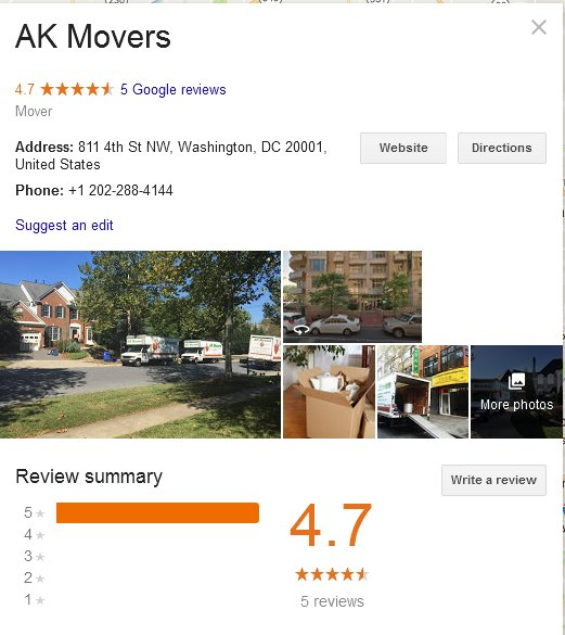 AK Movers – Location