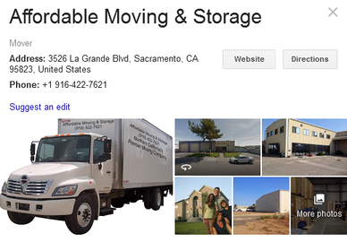 Affordable Moving and Storage - Location