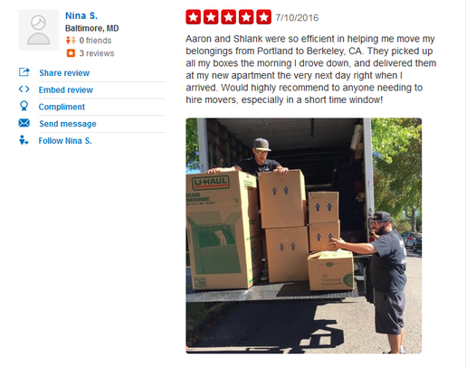 All America Moving Company – Moving review