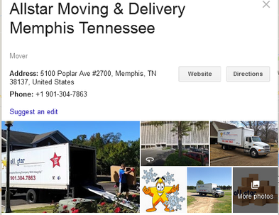 Allstar Moving and Delivery – Location