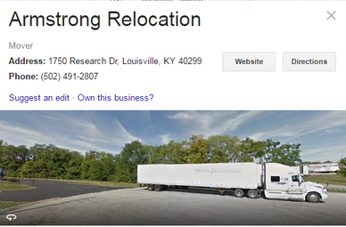 Armstrong Relocation – Location
