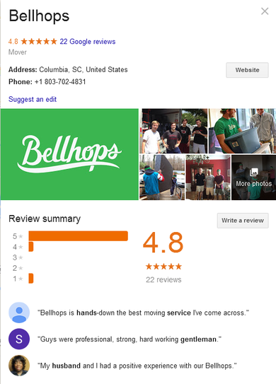 Bellhops – Location