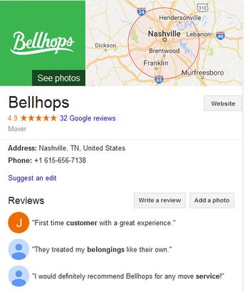 Bellhops – Location