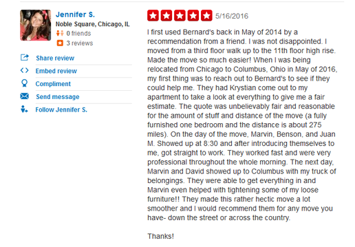Bernard Movers – Moving review