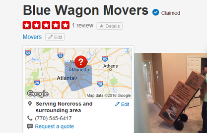 Blue Wagon Movers – Location