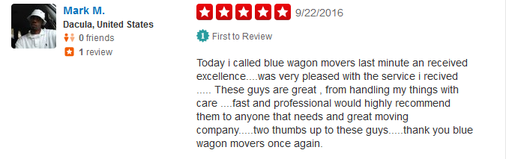 Blue Wagon Movers – Moving review