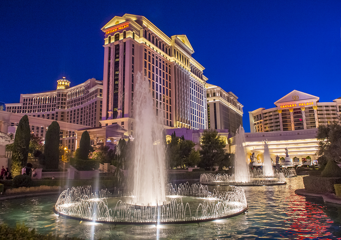 Caesar's Palace Hotel and Casino – one of the city's biggest employers