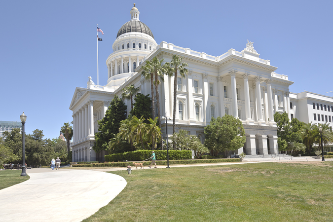 California State Capitol Building in Sacramento is an important local landmark
