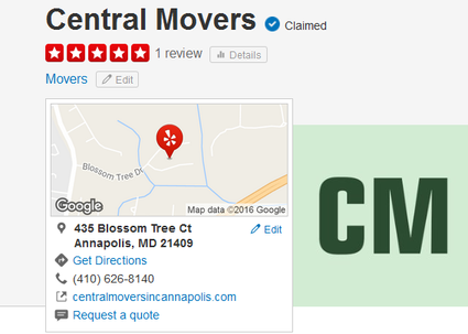 Central Movers – Location