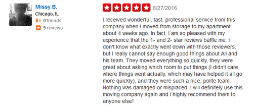 Chicago Best Movers – Moving reviews