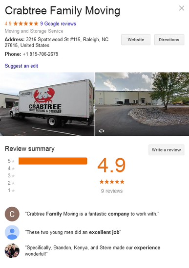 Crabtree Family Moving - Location