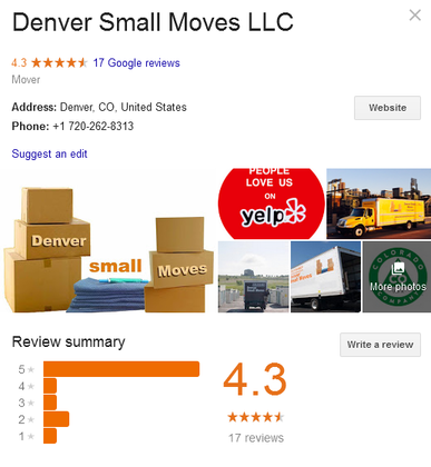 Denver Small Moves – Location
