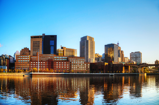 Downtown St. Paul and the Mississippi River – modern living with convenient urban amenities