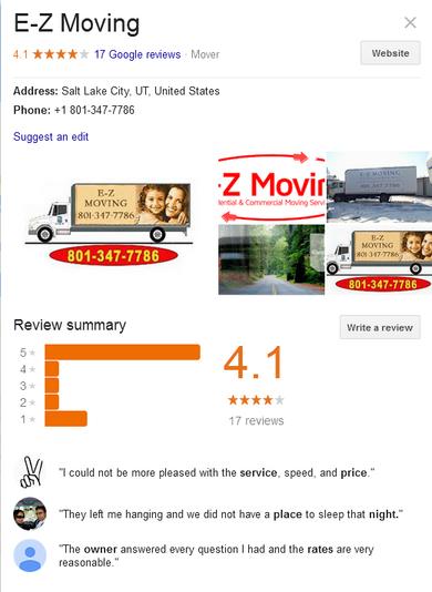 EZ Moving – Location