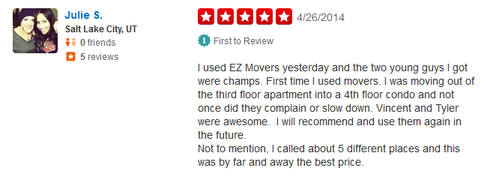 EZ Moving – Moving review