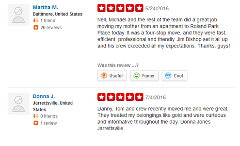 Eastern Moving and Storage – Moving reviews