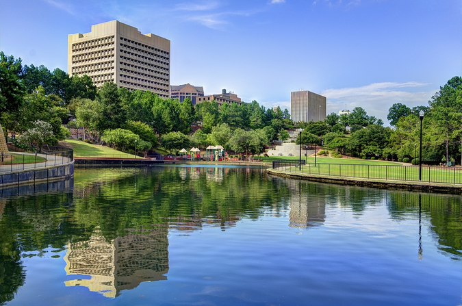 Enjoy Finlay Park and other beautiful spots when you relocate to Columbia
