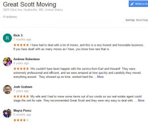 Great Scott Moving Moving Reviews 5 Movers Quotes