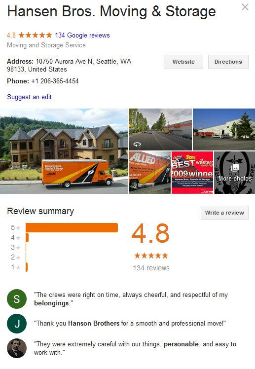 Moving To Seattle Washington 5 Movers Quotes