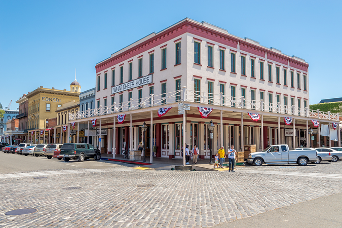 Historic buildings in Old Sacramento are popular must-sees for new arrivals