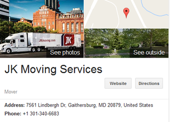 JK Moving Services – Location