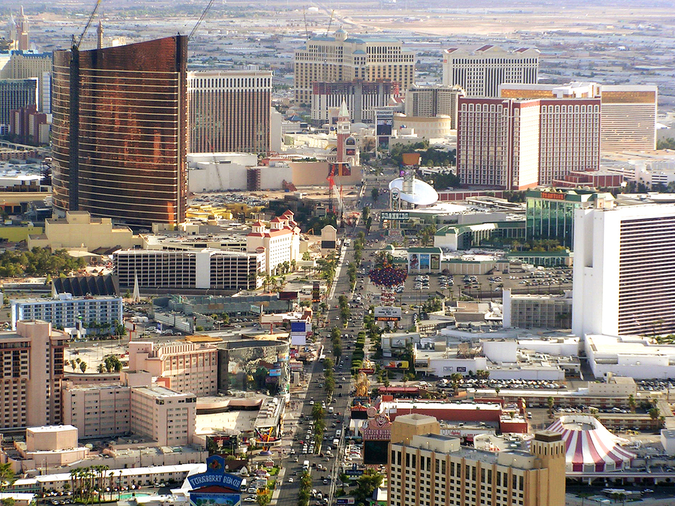 Las Vegas is the most populated city in Nevada with around 6000 new residents arriving monthly