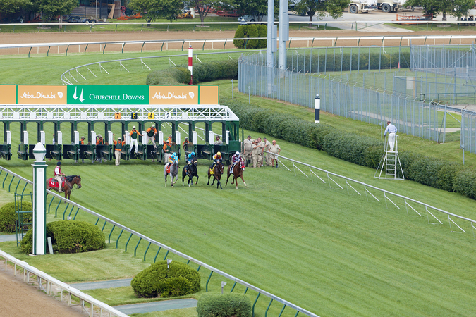 Louisville is home to the Kentucky derby – Famous Churchill Downs