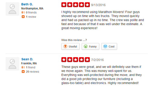 Marathon Moving Company - Moving review