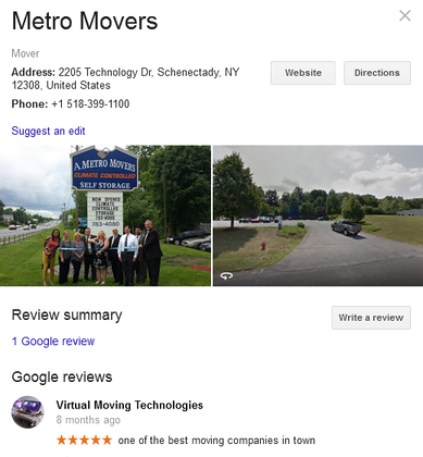 Metro Movers – Location and review