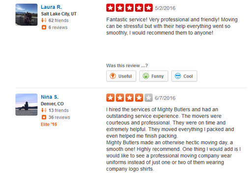 Mighty Butlers Moving - Moving reviews
