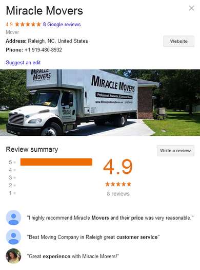 Miracle Movers - Location