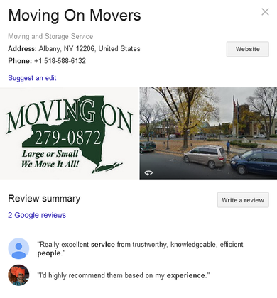 Moving On Movers – Location