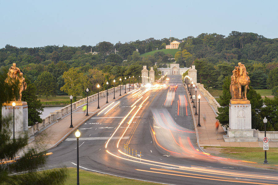 Moving to DC - The Arlington Memorial Bridge