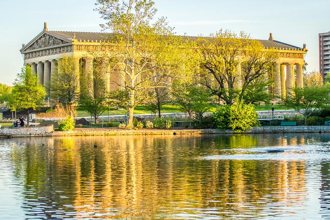 Nashville has its very own Parthenon in Centennial Park