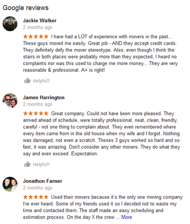 Oregon Local Moves – Moving reviews