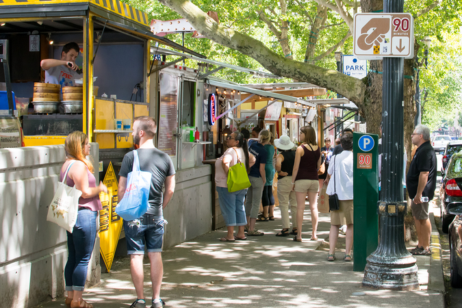 Portland is Food Cart City USA – Enjoy a diverse variety of cheap and easy eats
