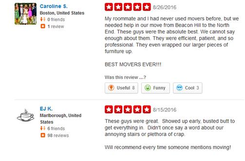 Raimonds Movers - Moving reviews